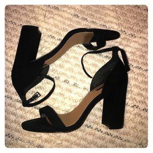b5864c840f4 Comfy Black block heel sandals